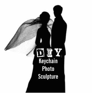 DIY - Keychain Foto-Skulptur Fotoskulptur Schlüsselanhänger
