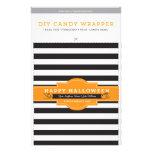 DIY kundenspezifische Halloween 1.55oz Süßigkeits- Vollfarbige Flyer