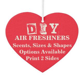 DIY - Luft Freshner/Herz Lufterfrischer