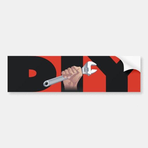 DIY mit Schlüssel Auto Sticker