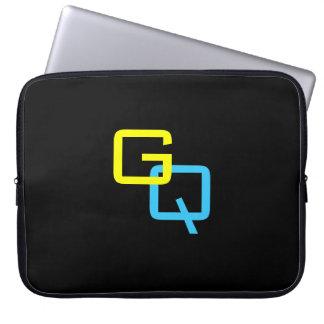 DIY Monogramm ~ Laptop-Hülse Laptopschutzhülle