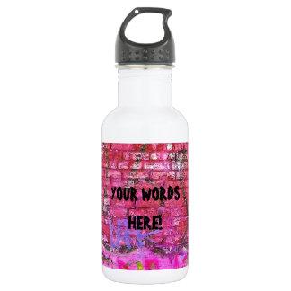 DIY personalisierter Trinkflasche