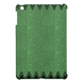 DIY Schablonen-Smaragdbeschaffenheit addieren iPad Mini Hülle
