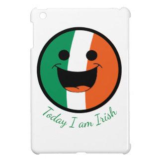 DIY St Patrick irischer Flaggen-Smiley-Rowdy iPad Mini Hülle
