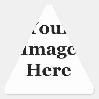 DIY, stellen Ihre eigenen Fotodrucke her. Addieren Dreiecks-Aufkleber