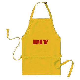 DIY - Tun Sie es sich Schürze