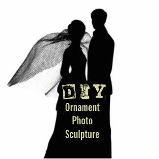 DIY - Verzierungs-Foto-Skulptur Fotoskulptur Ornament