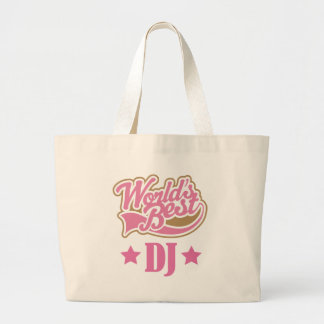 DJ-Disc-Jockey-Geschenk (Welten am besten) Jumbo Stoffbeutel