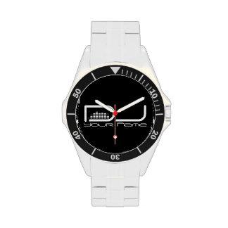 DJ-Entzerrer-Entwurfs-Uhr