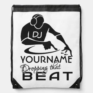 DJ-Gewohnheitstasche Turnbeutel