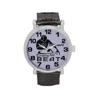 DJ-Gewohnheitsuhren Armbanduhr