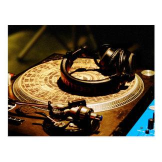 DJ Headphones1 Postkarten