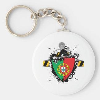 DJ in Portugal Schlüsselanhänger