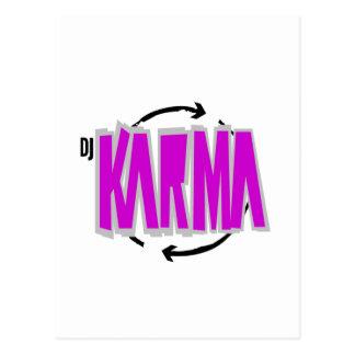DJ-Karma-Gang Postkarte