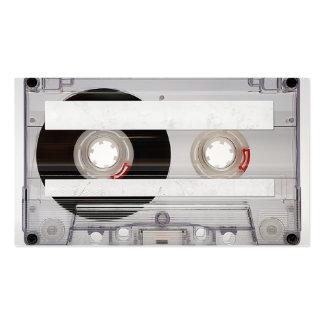 DJ-Kassetten-Visitenkarte-Schablone Visitenkarten