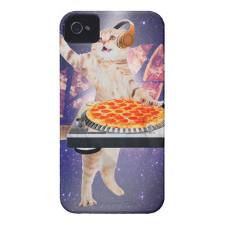 DJ-Katze - Katze DJ - Raumkatze - Katzenpizza iPhone 4 Cover