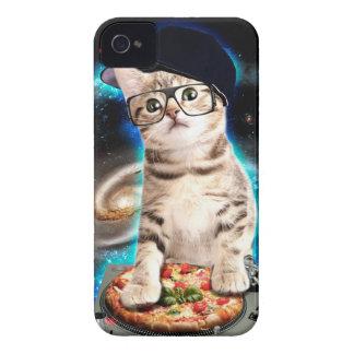 DJ-Katze - Raumkatze - Katzenpizza - niedliche iPhone 4 Cover