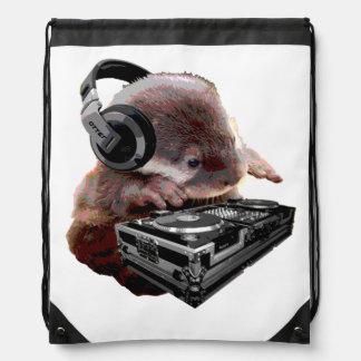 DJ keine Otterdrawstring-Tasche Turnbeutel