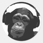DJ MONKEY STICKERS