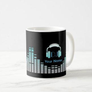 DJ-Musiker-Tasse personalisiert Kaffeetasse