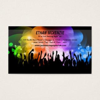 DJ-Nachtklub Visitenkarten
