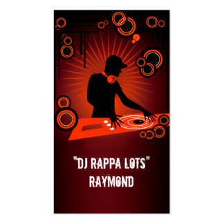 DJ Rappa verlost Raymond-Visitenkarte Visitenkarten