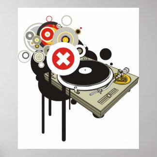DJ-Set Plakat