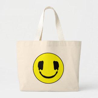 DJ-smiley Einkaufstasche