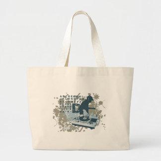 DJ-T - Shirts und -geschenke Einkaufstasche