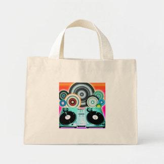 DJ-Turntable-Kreise Tasche