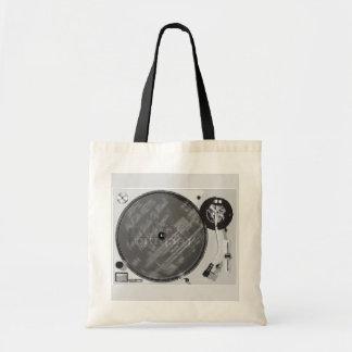 DJ-Turntable Leinentasche