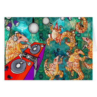 DJ Turntablist Pangolin Karte
