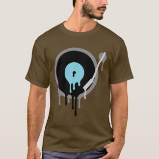 DJ-VinylTurnable T-Stück T-Shirt