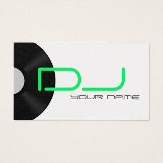 DJ-Visitenkarte Visitenkarte