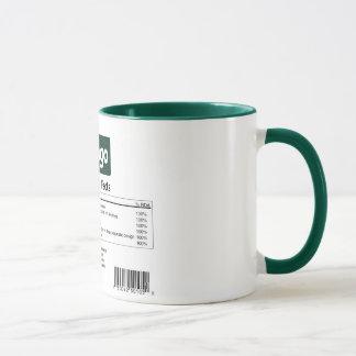 Django Nahrungs-Tatsachen-Tasse Tasse