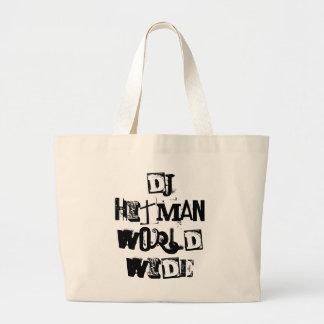 DJhitman weltweit Jumbo Stoffbeutel