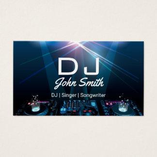 DJs Sängersongwriter-berufliche Musik Visitenkarte