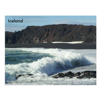 Djúpalónssandur und Dritvík, Snæfellsnes, Island Postkarte