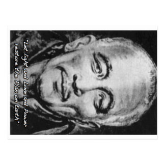 djwhal khul stieg Meister auf Postkarten