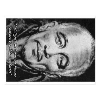 djwhal khul stieg Meister auf Postkarte