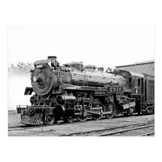 DL u. W Eisenbahn Scranton PA. Postkarte