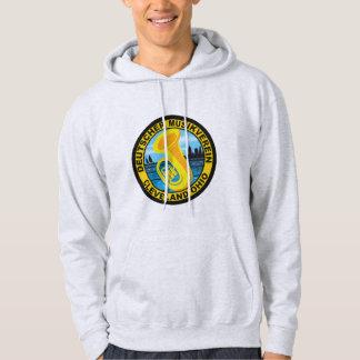 DMV mit Kapuze Sweatshirt-Farblogo Hoodie