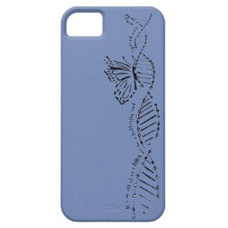 DNA-Schmetterlings-Hand gezeichneter iPhone 5 Schutzhülle