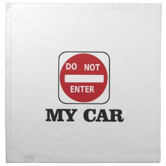 dne mein Auto Serviette
