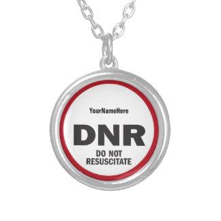 DNR beleben nicht medizinischen Umbau wieder Versilberte Kette