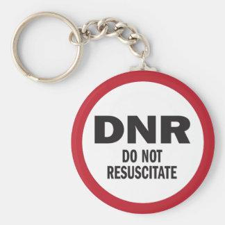 DNR beleben nicht medizinisches wieder Schlüsselanhänger