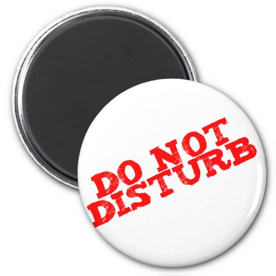 do not disturb runder magnet 5,1 cm