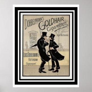 Dobbelmanns Zigaretten-Anzeigen-Plakat 16 x 20 Poster