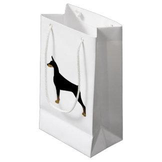 Dobermannpinscher-grundlegende Kleine Geschenktüte