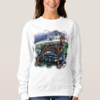 Dobermannpinscher-Hund Sweatshirt